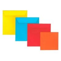 85x85 mm színes boríték
