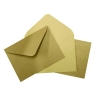 135x185mm barna boríték